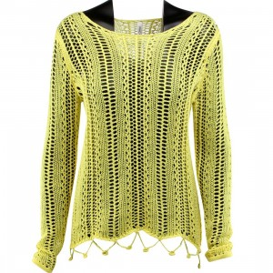RVCA Women Home Again Sweater (yellow / lime light)