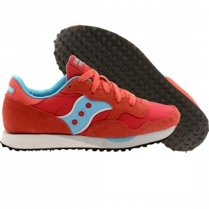 Saucony Women DXN Trainer (red / light blue)