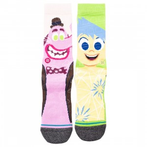 Stance x Pixar Men Inside Out Riley Anderson Socks (multi)