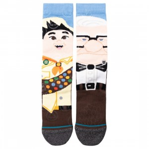 Stance x Pixar Men Up Wilderness Explorer Socks (blue / light blue)