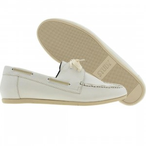 Study The Dock (white / brown)