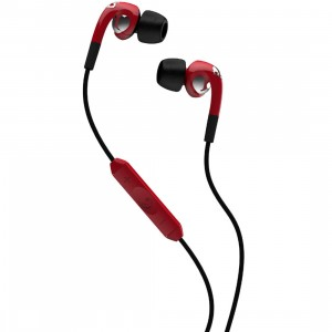 Skullcandy Supreme Sound The Fix Earbuds W Mic (red / chrome)