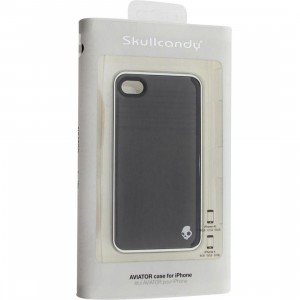 Skullcandy iPhone 4 And 4S Aviator Case (black / silver)