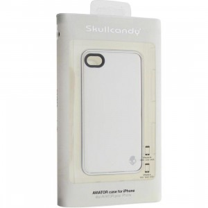 Skullcandy iPhone 4 And 4S Aviator Case (white / silver)