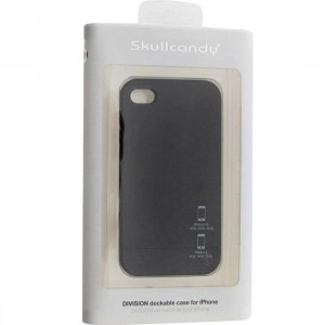 Skullcandy iPhone 4 And 4S Division Dockable Case (black)