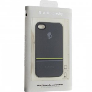 Skullcandy iPhone 4 And 4S Trace Low Profile Case (carbon stripe)