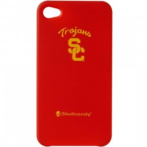 Skullcandy USC Trojans iPhone 4 And 4S Clip On Case (red)