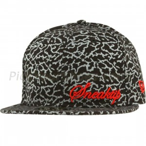 Sneaktip Crackle New Era Fitted Cap (black)