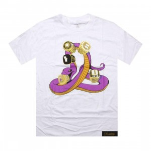 Sneaktip Mamba 5 Rings Tee (white) - PYS.com Exclusive