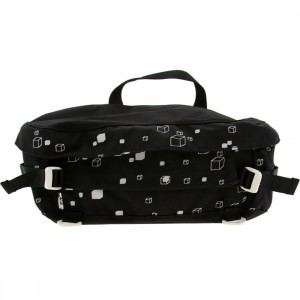 Stussy Structure Sling Carrier Pouch (black)