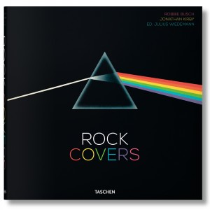 Rock Covers Book By Robbie Busch (black)