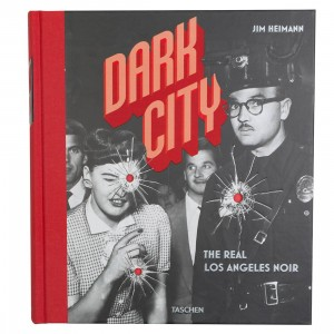 Dark City The Real Los Angeles 1920-1950 Hardcover Book (black / hardcover)