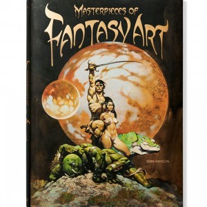 Masterpieces of Fantasy Art By Dian Hanson Book (brown / hardcover)