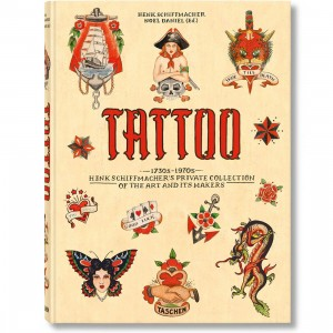Tattoo 1730s-1970s Henk Schiffmacheres Private Collection Hardcover Book (yellow)