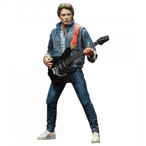NECA Back To The Future Ultimate Marty McFly 1985 Audition 7 Inch Scale Action Figure (blue)
