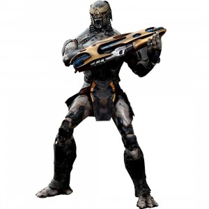 Hot Toys Chitauri Footsoldier 1/6 Scale Collectible Figure (gray)