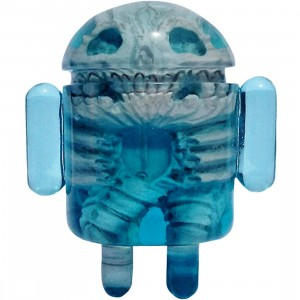 Android Foundry x Scott Wilkowski Infected Android Figure (blue) - SDCC Exclusive