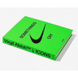 Virgil Abloh x NIKE Icons Book (green / hardcover)