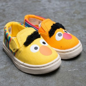 TOMS x Sesame Street Toddlers Luca - Bert And Ernie (yellow)