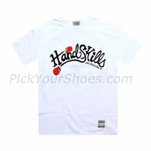 UNDRCRWN PickYourShoes.com Exclusive - Hand Skills Tee (white)