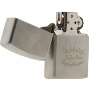 Undefeated Play Dirty Zippo Lighter (silver)
