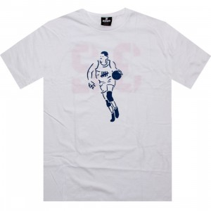 Undefeated Stencil Basketball Tee (white)