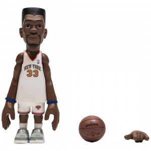 MINDstyle x Coolrain NBA Legends New York Knicks Patrick Ewing Figure (white)