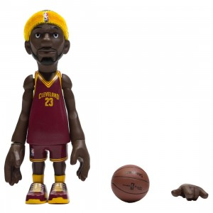 MINDstyle x Coolrain NBA Cleveland Cavaliers Lebron James Arena Box Figure (red)