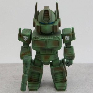 BAIT x Transformers x Switch Collectibles Optimus Prime 6.5 Inch Figure - Camo Edition