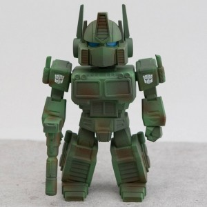 BAIT x Transformers x Switch Collectibles Optimus Prime 4.5 Inch Figure - Camo Edition