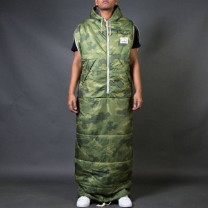 Poler Men The Shaggy Napsack (green / camo)