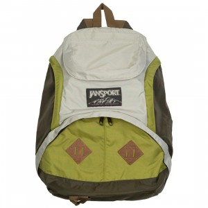 JanSport Wheeler Rucksack Backpack (green / light french grey / citronella green / diesel green)