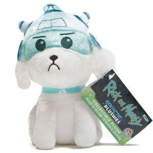 Funko Galactic Plushies Rick and Morty - Snowball With Helmet Plush (white)