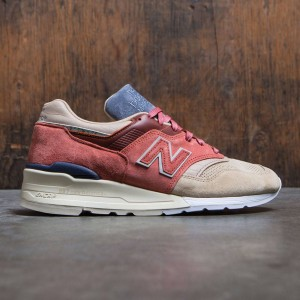 New Balance x Stance Men M997 First Of All - Made In USA (tan / rose / sand)