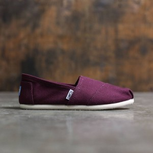 TOMS Women Red Canvas - Red Mahagony (red)