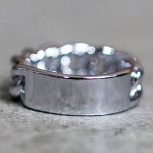 Mister ID Ring (silver / chrome)