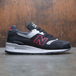New Balance Men 997 Color Spectrum M997CR - Made In USA (black / white / red)