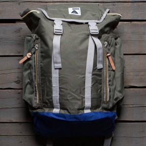 Poler Rucksack Backpack (olive / burnt)