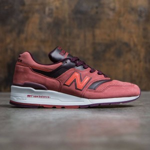 New Balance Men 997 M997DTAG - Made In USA (red / clay red / burgundy)