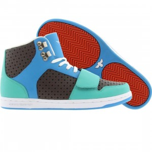 Creative Recreation Womens Cesario (royal / brown / turquoise)